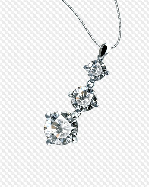 Jewelry with Diamonds, PNG.