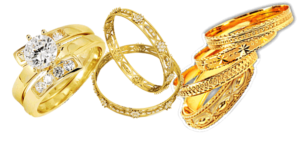 Download Gold Jewelry PNG Clipart.