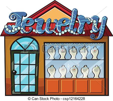 Jewelry Shop Clipart.