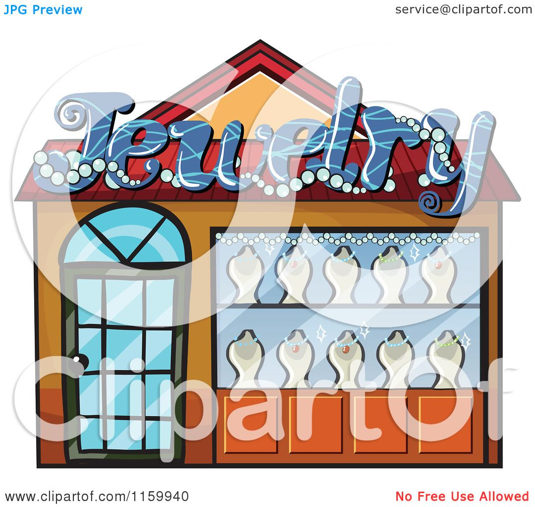 Images: Jewelry Store Building Clipart.