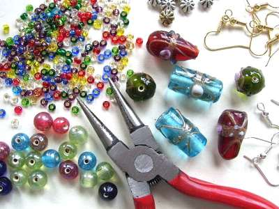 Jewelry Making Clipart.