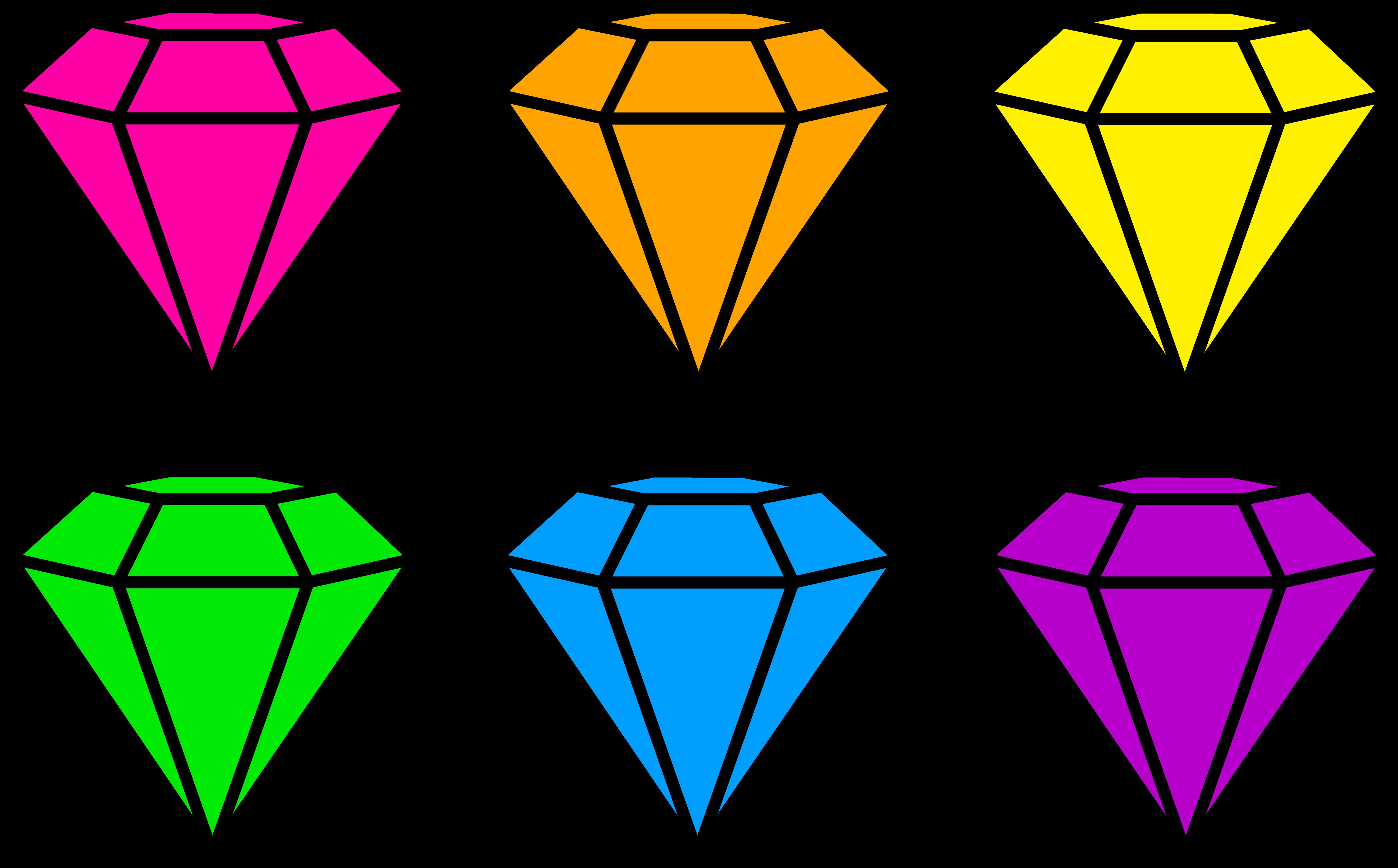 Jewels Clipart.