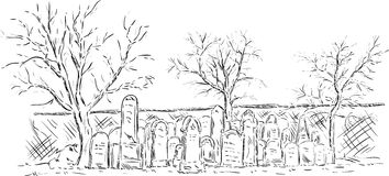Cementary Grave Clipart.