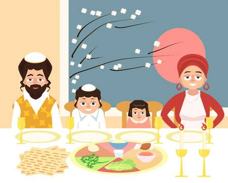 313 Jewish Family Stock Illustrations, Cliparts And Royalty Free.