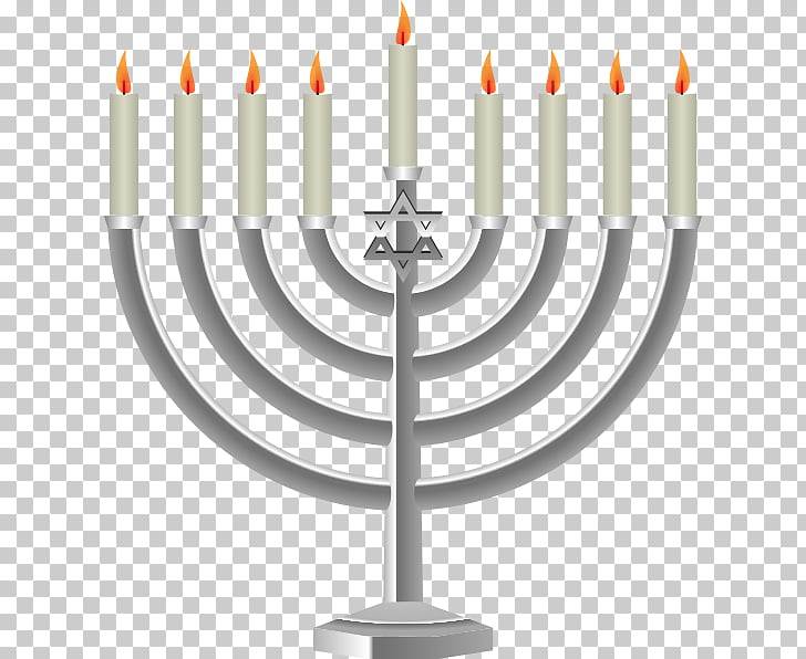Menorah Jewish holiday Candle , Jewish Menorah s PNG clipart.