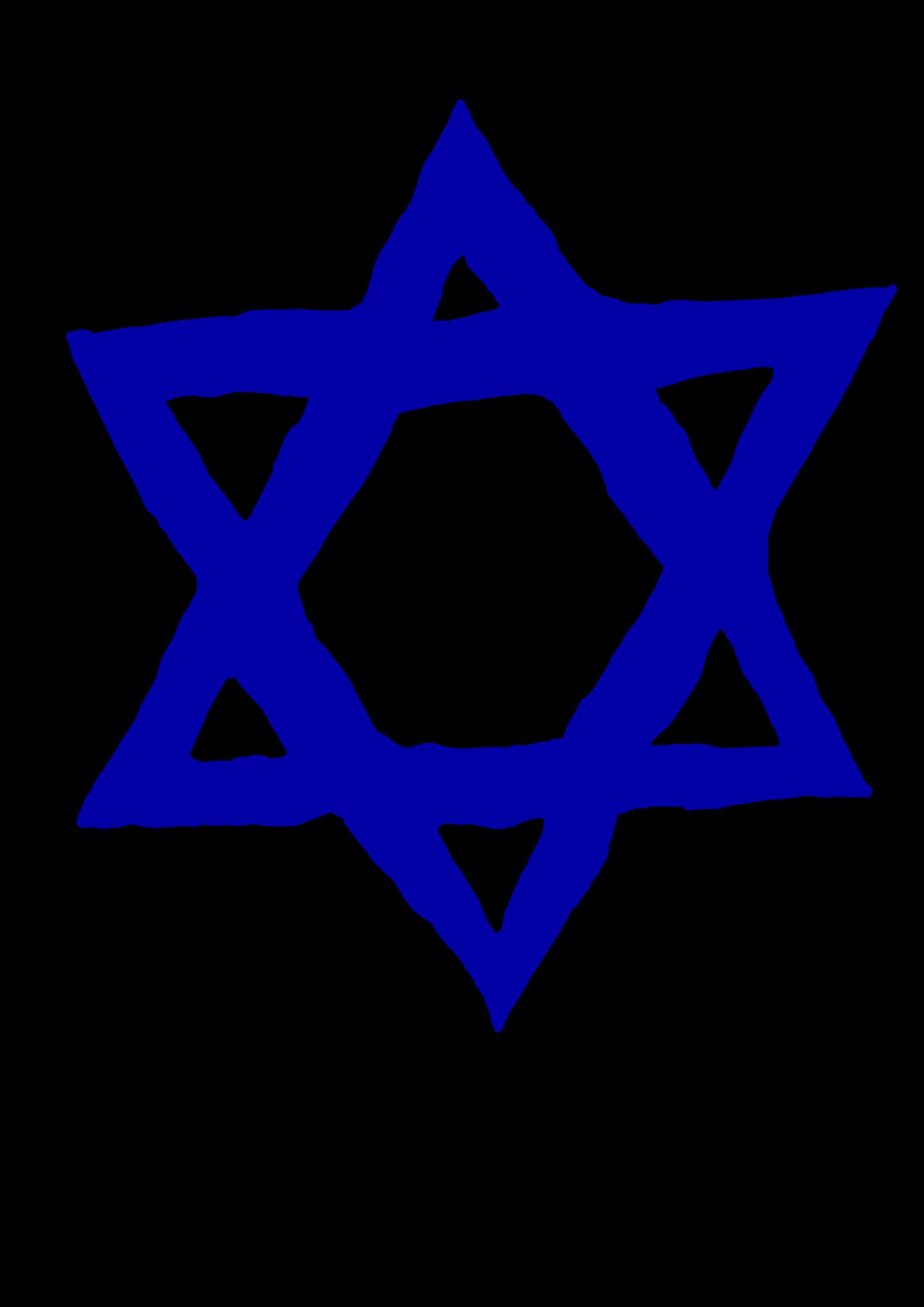 Jewish Star Clipart.