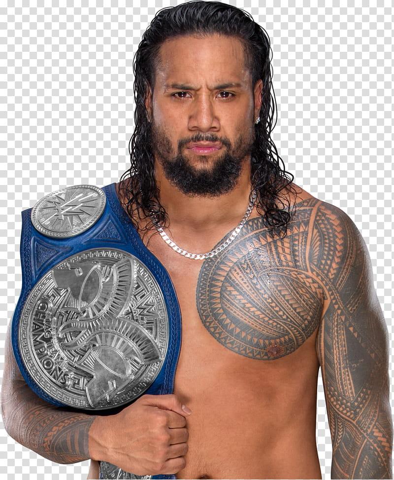 Jimmy Uso SDLIVE Tag Team Champion transparent background.