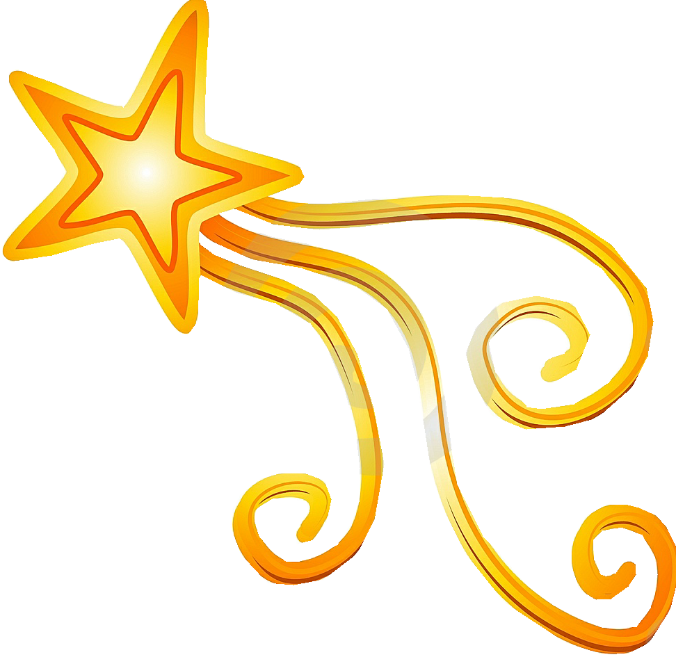 Shooting Star Clip Art.
