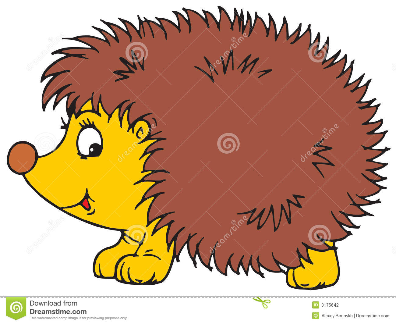Hedgehog Stock Photography.
