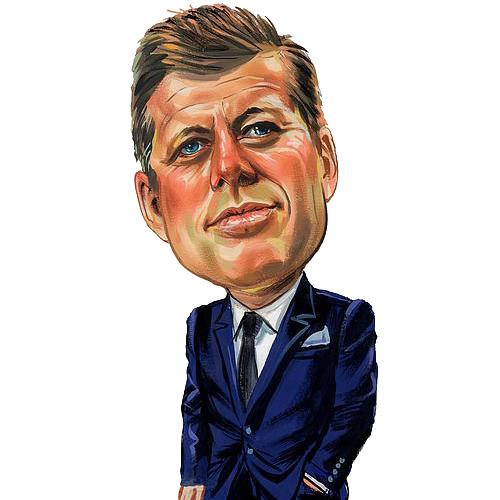 Free John F Kennedy Clip Art.