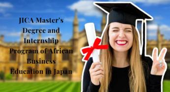 Japan Scholarships 2019.