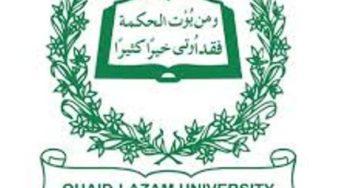 Pakistan Scholarships 2019.