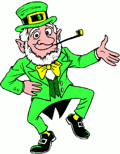 Irish Jig Clipart.