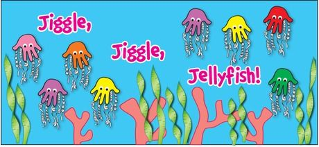 Jiggle, Jiggle, Jelly Fish, Lesson Plans.