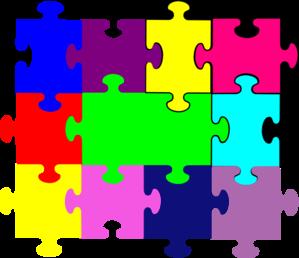 Puzzle role clipart #11
