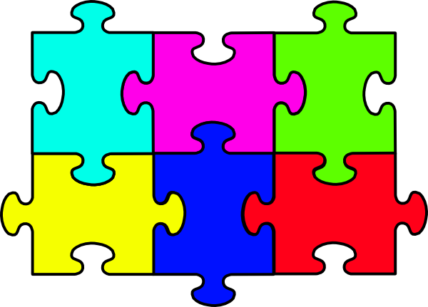 Microsoft jigsaw clipart.