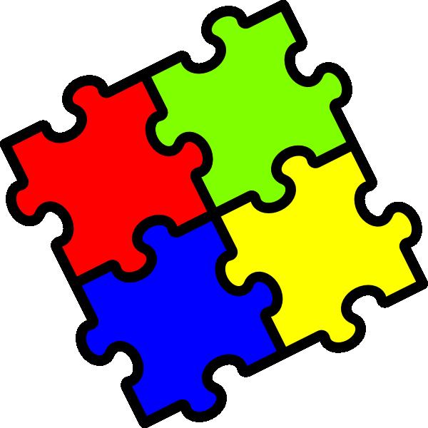 Jigsaw Clip Art at Clker.com.