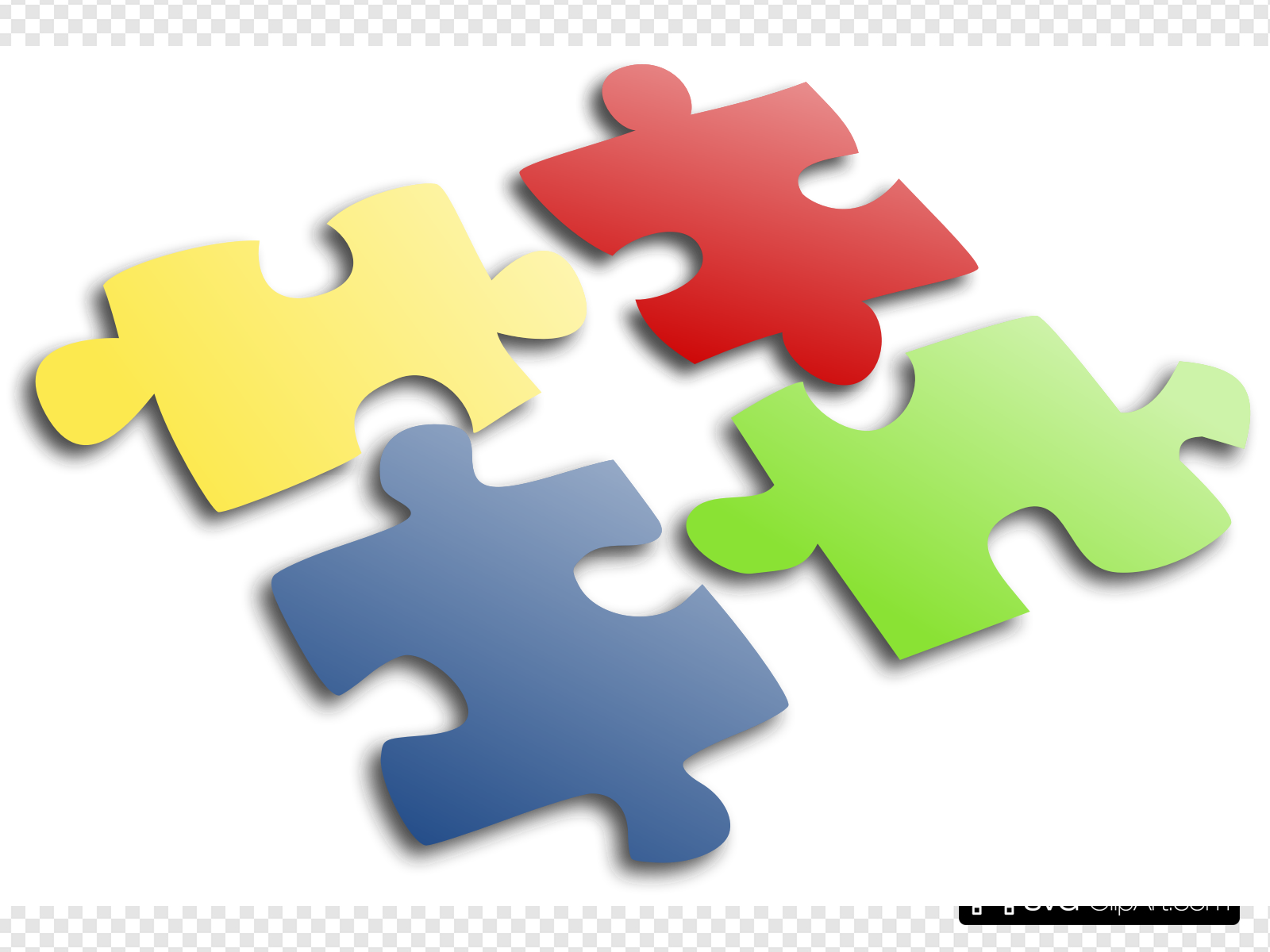 Jigsaw Puzzle Clip art, Icon and SVG.