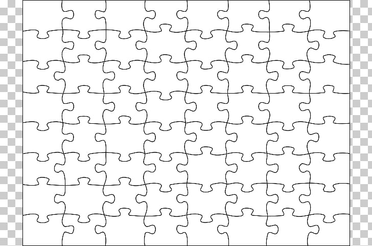 Jigsaw puzzle Scalable Graphics, Puzzle Template, jigsaw.