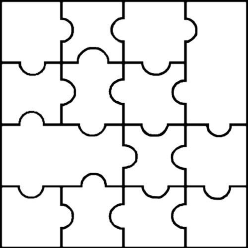 Free Blank Puzzle Pieces, Download Free Clip Art, Free Clip.