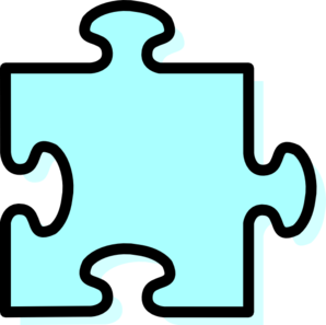 Sky Jigsaw Piece Clip Art at Clker.com.