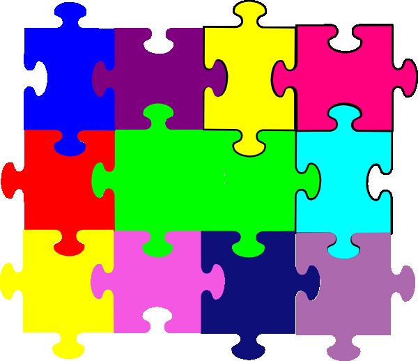 Jigsaw Puzzle Clip Art at Clker.com.