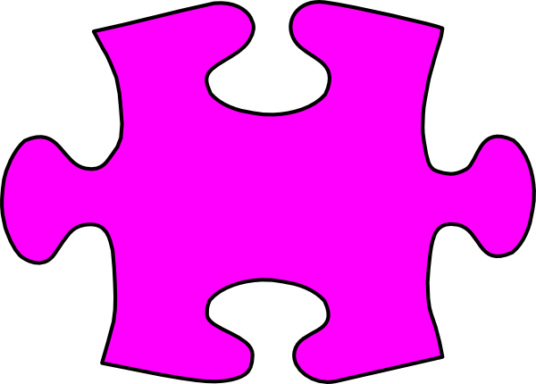Lil Jigsaw Puzzle Piece Large Clip Art at Clker.com.