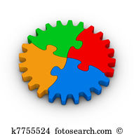 Jigsaw puzzles Clipart and Stock Illustrations. 17,385 jigsaw.