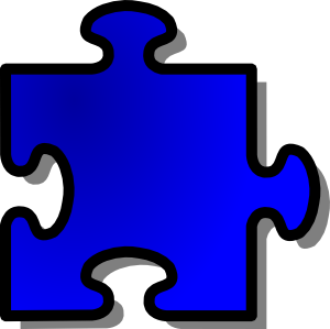 Jigsaw puzzles clipart.