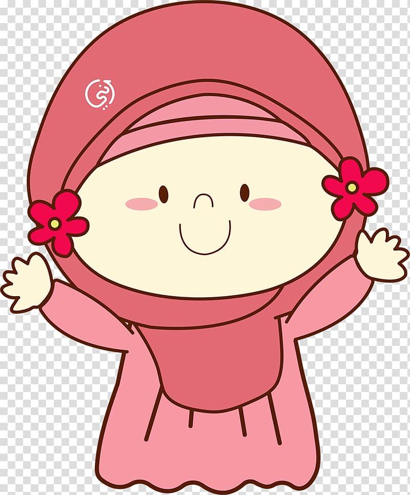 Hijab Jilbāb Muslim , hijab transparent background PNG.