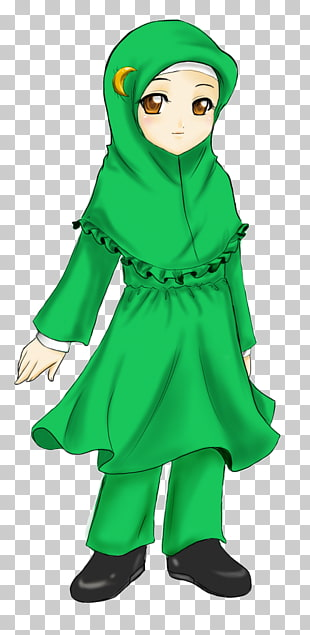 Hijab Jilbāb Headscarf Headgear Muslim, jilbab PNG clipart.