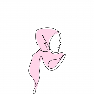 Hijab PNG Images.