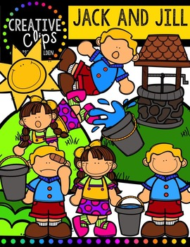 Jack and Jill {Creative Clips Digital Clipart}.