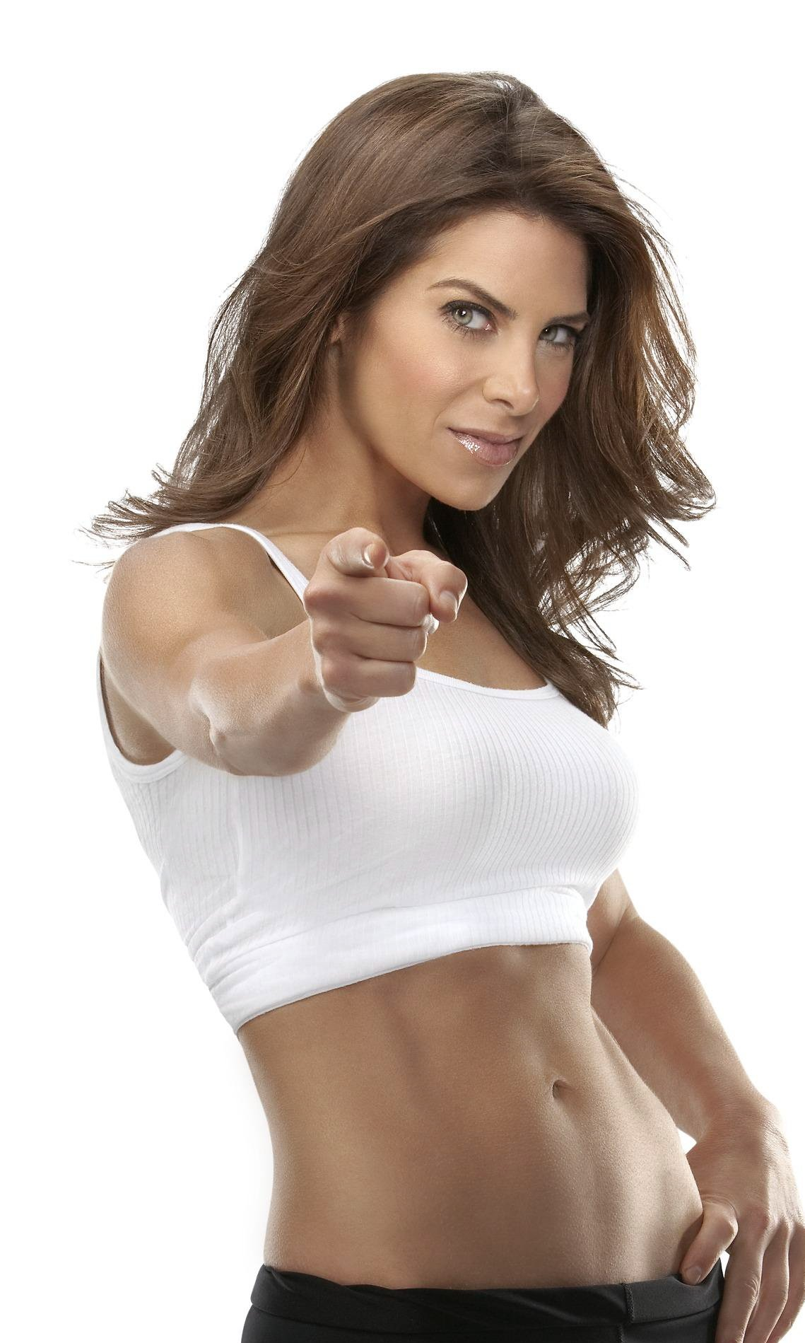 Jillian Michaels: an empire founded on tough love and sound.