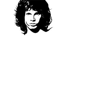 Jim Morrison clipart, cliparts of Jim Morrison free download (wmf.