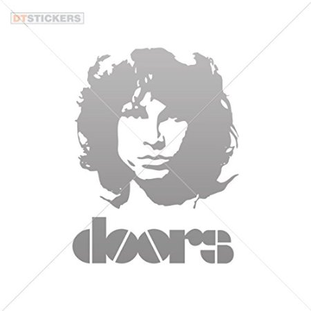 Buy Decoration Vinyl Sticker Jim Morrison Doors Decoration.