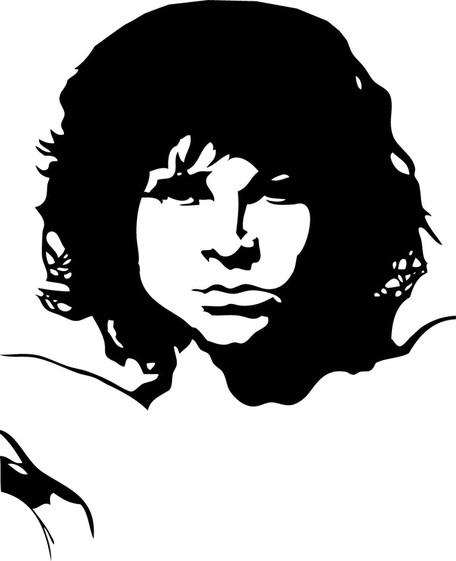 Jim Morrison Pop Art, Clipart.