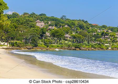 Stock Photos of Jimbaran beach in Bali, Indonesia.