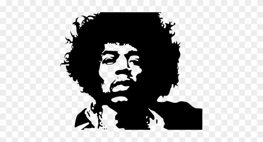 Jimi Hendrix Clipart (#2423861).