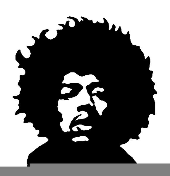 Jimi Hendrix Clipart.