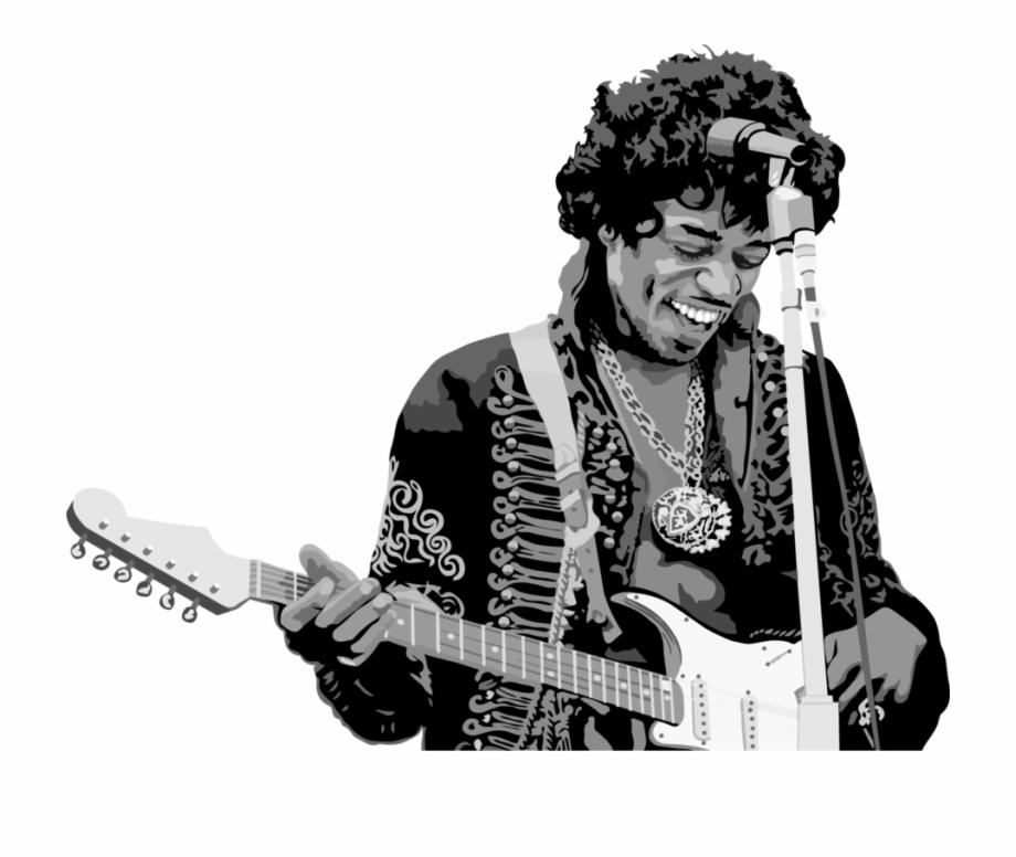 Musician Guitarist The Jimi Hendrix Experience.