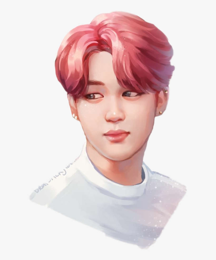 Drawing Bts Jimin Transparent & Png Clipart Free Download.