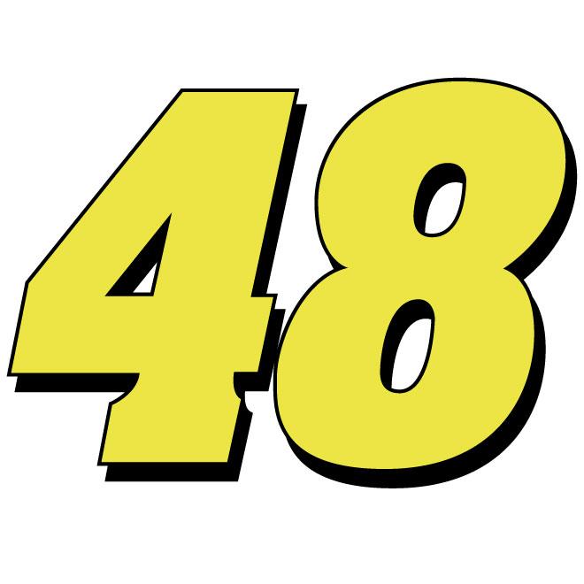 Jimmie Johnson Nascar vector number.