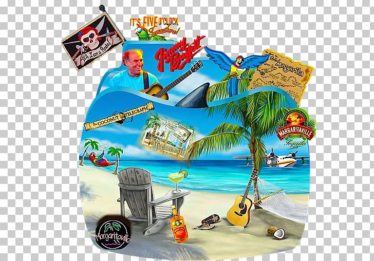 Jimmy Buffett\'s Margaritaville Parrothead Art Song PNG.
