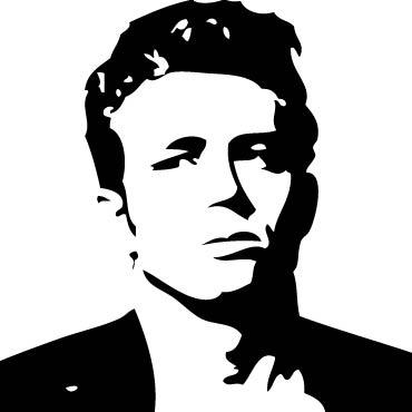 James Dean Clipart.
