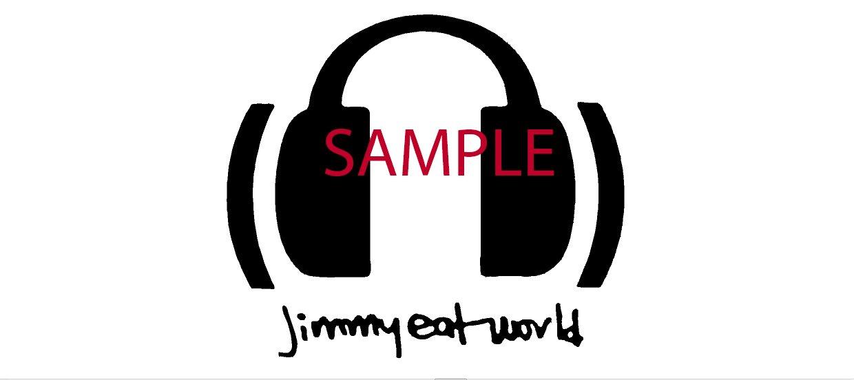 Amazon.com: WHITE JIMMY EAT WORLD BAND DECAL LOGO WINDOW NEW.