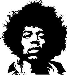 Jimi Hendrix Face.