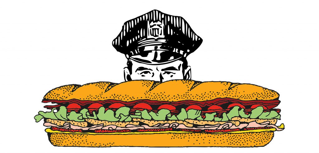 Police Catch Jimmy John\'s Driver Delivering Cannabis.