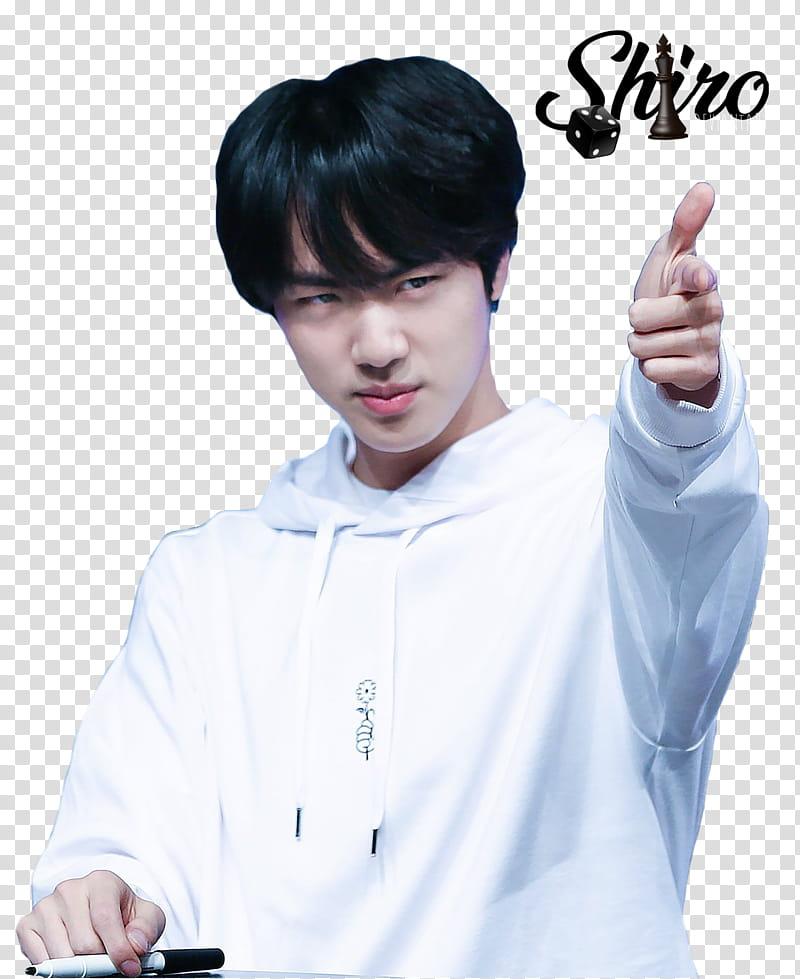 Jin Bts transparent background PNG clipart.