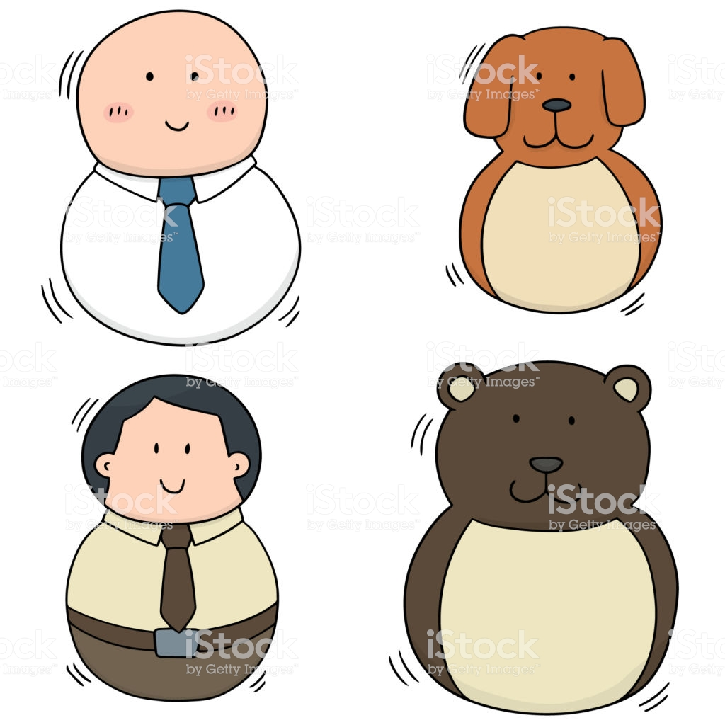 Rocking Doll Stock Vector Art & More Images of Adult.